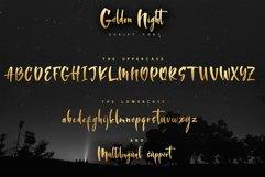 Golden Night script font Product Image 2