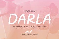 Darla Script Handwritten Font Product Image 1