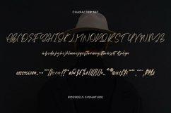 Web Font RosseelsSignature - Elegant Signature Font Product Image 3
