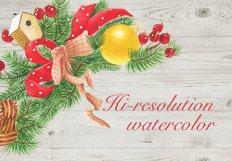 Christmas wreaths clip art #1 Product Image 4