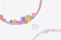 Watercolor frame for sewing Product Image 3