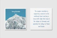 Web Font Winter Kisses - Handwritten Script Font Product Image 5
