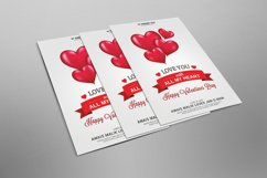 Valentines Flyer Psd Template Product Image 2