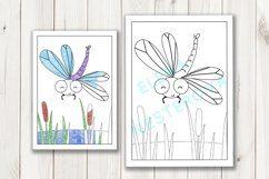 Coloring Pages with insects Product Image 5