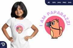 Paparazzi Animals for T-Shirt Design Product Image 1