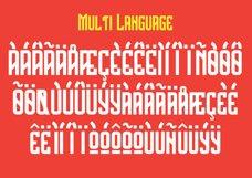 The Bridges Typeface Product Image 6