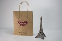 Craft Paper Shopping Bag Mockups. 7 PSD files, smart objects Product Image 6