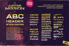 Jupiter Mission A Science-Fiction Font Spectacular Product Image 4