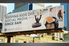Corrugated Billboard Mockup Template Product Image 2