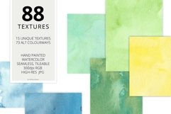 88 Hi-Res Seamless Watercolor Textures Product Image 2