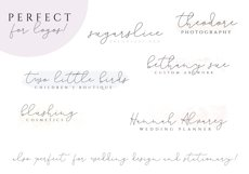 The Lighthouse - Delicate Script Font Product Image 3