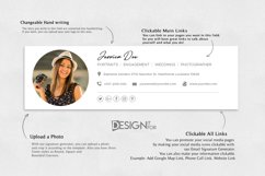 Email Signature Template Clickable Editable, Gmail Outlook Product Image 3