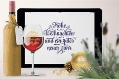Frohe Weihnachten Deutschland Christmas svg Around the World Product Image 5