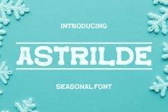 Web Font Astrilde Font Product Image 1