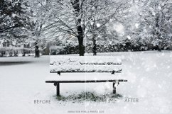 Real Snow Photoshop Action Product Image 4
