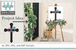 Wedding SVG - Wedding Cross Product Image 1