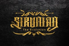 Sirunian Typeface Product Image 1