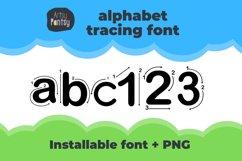 Artsy Regular Alphabet Tracing - Fonts for Teachers Product Image 1