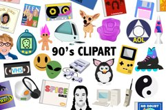 90's Clipart Product Image 1