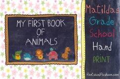 Matildas Grade School Hand_Print Product Image 3
