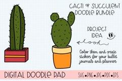 Succulents and Cacti Doodle Bundle Product Image 3