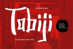Tabiji - A Handwritten Font Product Image 1