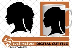 7x Black Woman Bundle SVG, Afro Girl svg, Chubby Diva SVG Product Image 4