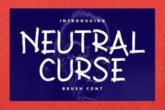 Web Font Neutral Curse Font Product Image 1