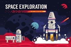 Space Flat Illustration Product Image 4