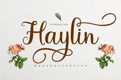 Haylin Script Product Image 1