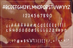 Crispy Bacon - A quirky all caps font - WEB FONT Product Image 3