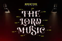 The Lord Music - Decorative font Product Image 6