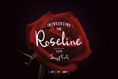 Roseline Script Font Product Image 1