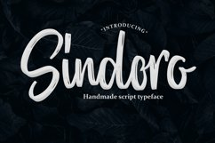 Sindoro - Handmade Script Product Image 1