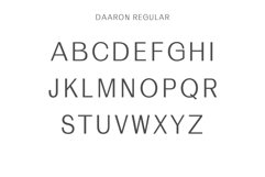 Daaron Sans Serif Font Family Product Image 2