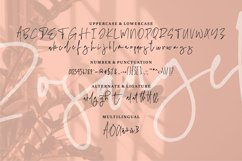 Rosangel | A Beauty Signature Font Product Image 3