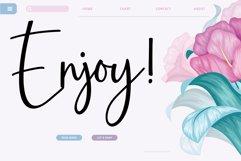 Amarylli Blossom Modern Handwritten Font Product Image 2