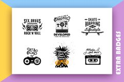 Back to the 90's. Hand Drawn Icons Product Image 5