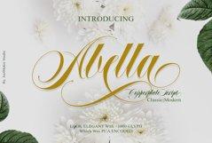 Abella Script Product Image 1