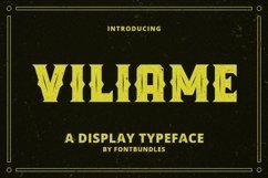 Web Font Viliame Product Image 1