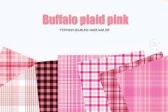 Digital paper Pink, buffalo plaid Pink, Background Product Image 2