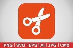 Vector Scissors Icon Product Image 1