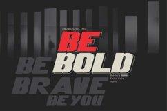 Be Bold italic modern Product Image 1