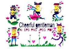 Cheerful gentleman Product Image 1