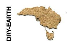 AUSTRALIA 3D Maps Images Dry Earth Snow Grass Terrain Sand Product Image 6
