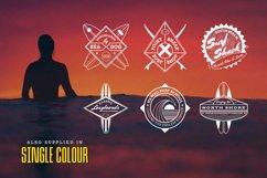 Retro Surf Logo Templates Product Image 6