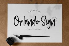 Orlando Sign | Stylishtic Monoline Product Image 1