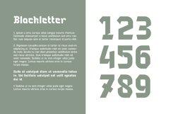 Blackhead Typeface | Font Product Image 3