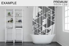 Bath Curtain Mockup Pack Product Image 3