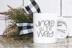 Joyful Christmas- A Hand-Lettered Christmas Font Product Image 4